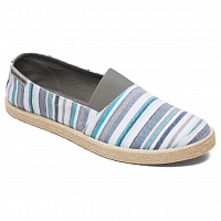 Quiksilver ESPADRILLED M SHOE GREY/BLUE/WHITE