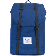 Herschel RETREAT Eclipse Crosshatch/Black Rubber