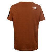 The North Face M SS FINE ALP EQUTEE CARAMEL C (UBT)