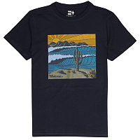 Billabong DESERT TEE SS BOY NAVY