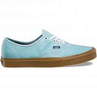 Vans Authentic (Washed Canvas) blue radiance/gum