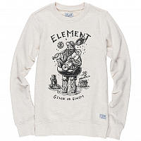 Element RIVER KEEPER CREW OATMEAL HEATHER