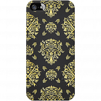 Nixon Mitt Print iPhone 5 Case BLACK/GOLD ORNATE
