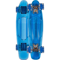 SUNSET SKATEBOARDS WAVE COMPLETE 22 BLUE DECK - BLUE WHEELS