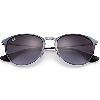 RAY BAN ERIKA METAL SHOT GREY METALLIC/GREY GRADIENT