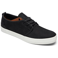 DC STUDIO 2 LE M SHOE BLACK/DARK CHOCOLATE