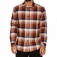 Billabong COASTLINE FLANNEL LS BROWN