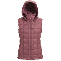 Burton W AK SQUALL VEST ROSE BROWN