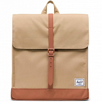 Herschel CITY MID-VOLUME Kelp/Saddle Brown