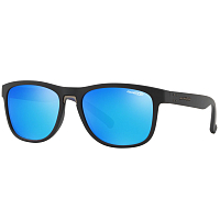 Arnette WOKE MATTE BLACK/GREEN MIRROR LIGHT BLUE