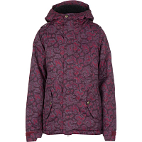 686 WMS AUTHNTC 4EVA-AFTER INS JKT Wine Paisley Herringbone