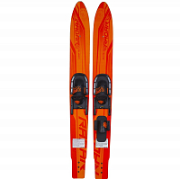 Radar X-Caliber w/ Adj. Horseshoe Bindings ORANGE