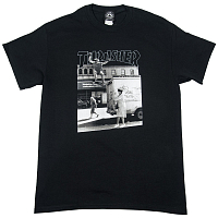 THRASHER HACKETT S/S BLACK