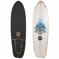 YOW POWER SURFING SERIES DECK TEAHUPOO