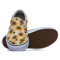 Vans Classic Slip-On (Sunflower) true white
