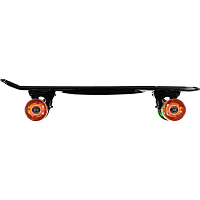 SUNSET SKATEBOARDS BLACK RASTA  COMPLETE 22 SS TINTED GREY DECK-RASTA WHEELS BLACK MATTE TRUCK