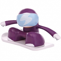 Chukbuddies Snowboarder PURPLE