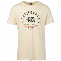 Rip Curl SURFING STATES SS TEE Pale Yellow