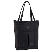 Burton NS ZIP CRATE TOTE TRUE BLK HTHR TWILL