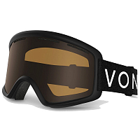 VonZipper BEEFY Black Satin / Bronze