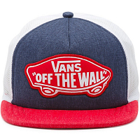 Vans WM BEACH GIRL TRUCKER HAT CROWN BLUE-TOMATO