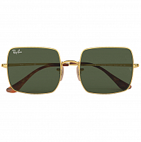 Ray Ban SQUARE GOLD/GREEN