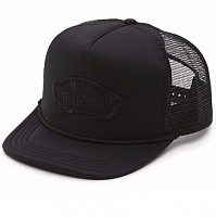 Vans MN CLASSIC PATCH TRUCKER BLACK