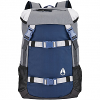 Nixon SMALL LANDLOCK BACKPACK Navy/Gray