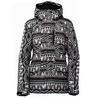 Bonfire JASPER JACKET EBONY AND IVORY PRINT