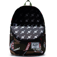 Herschel INDEPENDENT CLASSIC X-LARGE WOODLAND CAMO MULTI INDEPENDENT LOGO/CYPRESS