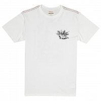 RVCA ALOHA OPPOSITES SS ANTIQUE WHITE