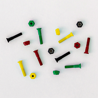 Footwork HARDWARE RASTA ASSORTED