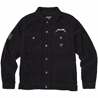 Billabong AI METALLICA JACKET WASHED BLACK