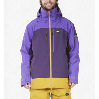 Picture organic TRACK JKT DARK PURPLE