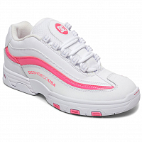 DC Legacy Lite J Shoe WHITE/HOT PINK