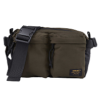 Carhartt WIP MILITARY HIP BAG CYPRESS / BLACK