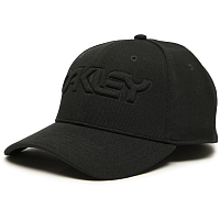 Oakley 6 PANEL STRETCH HAT EMBOSSED BLACKOUT