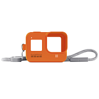 GoPro HERO8 (Sleeve +  Lanyard) ORANGE