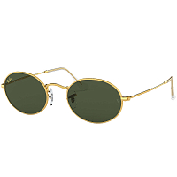 Ray Ban OVAL GOLD LEGEND/GREEN