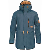 Planks THE PEOPLE'S PARKA OCEAN BLUE