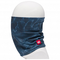 686 DOUBLE LAYER FACE WARMER BLUE STORM NEBULA CAMO
