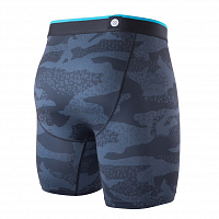 Stance THE BOXER BRIEF LEOPARD CAMO BB BLACK