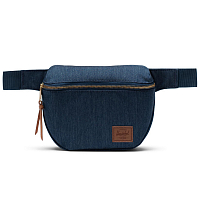Herschel FIFTEEN INDIGO DENIM CROSSHATCH