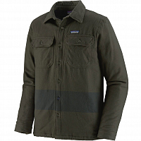 Patagonia M'S INSULATED FJORD FLANNEL JKT BASIN GREEN