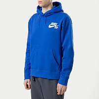 Nike M NK SB ICON HOODIE PO ESSNL GAME ROYAL/WHITE
