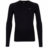 The North Face M SPORT L/S CR N BLACK/ASPH GR (KT0)
