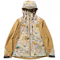 And Wander PRINTED UV SHIELD JACKET BEIGE