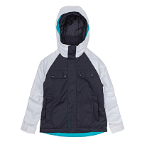 686 GIRLS DREAM INSULATED JACKET BLACK BEAR SUBLIMATION COLORBLOCK