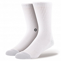 Stance UNCOMMON SOLIDS ICON WHITE/BLACK