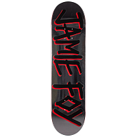 Deathwish JF GANG NAME DECK SILVER